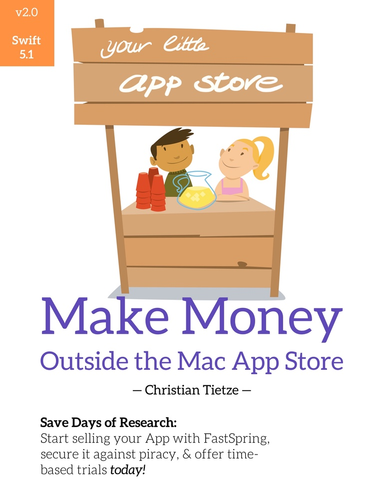 Make Money Outside the Mac App Store book cover