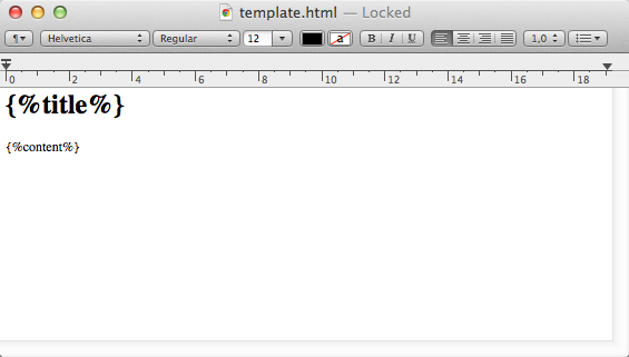 TextEdit HTML rendering