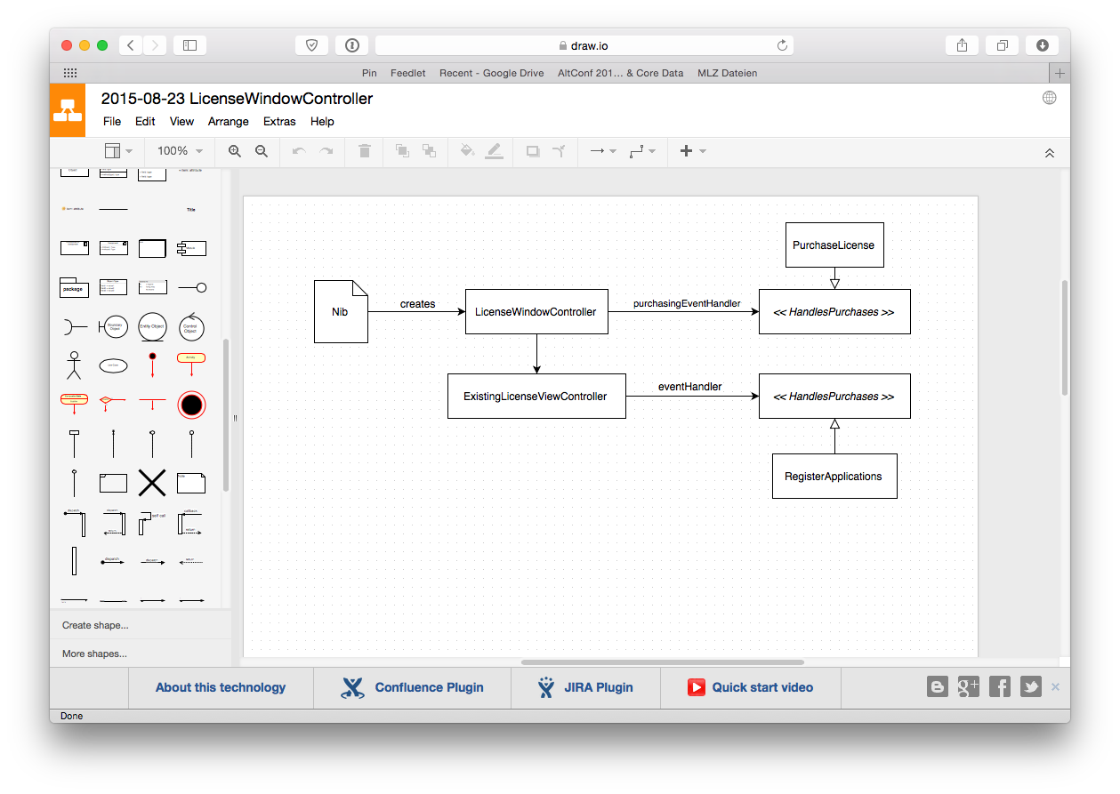 Create Uml Diagrams Quickly With Drawio Christian Tietze How To Draw Diagram From My Latest Writing Project